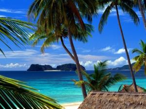 Pangulasian Island From El Nido, Palawan